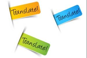 Label translation services