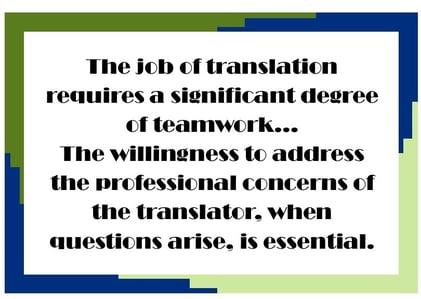 Quote translator spotlight 10-18