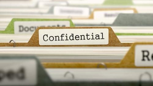 Legal translation confidentiality