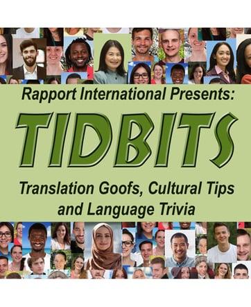 Tidbits book Cover