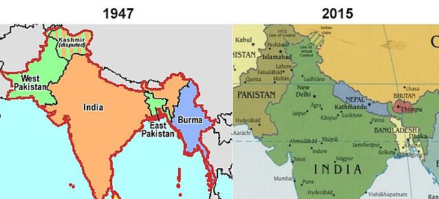 bangladesh then and now