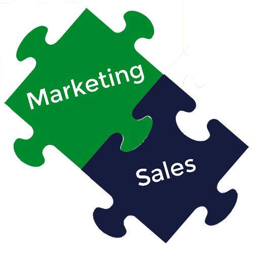marketing and sales puzzle